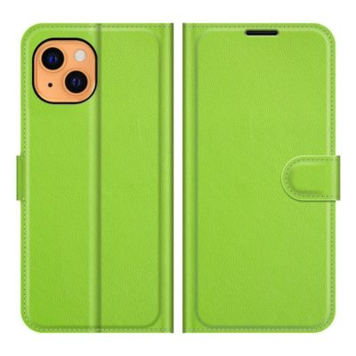Apple iPhone 13 mini Kotelo PU-Nahka Vihreä