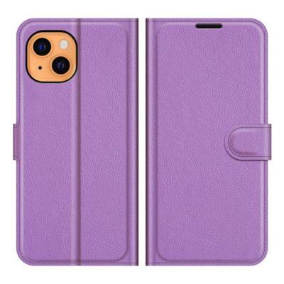 Apple iPhone 13 mini Kotelo PU-Nahka Violetti