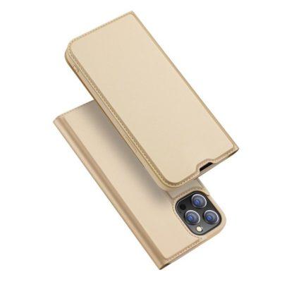 Apple iPhone 13 Pro Kotelo Dux Ducis Kulta