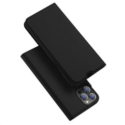Apple iPhone 13 Pro Kotelo Dux Ducis Musta