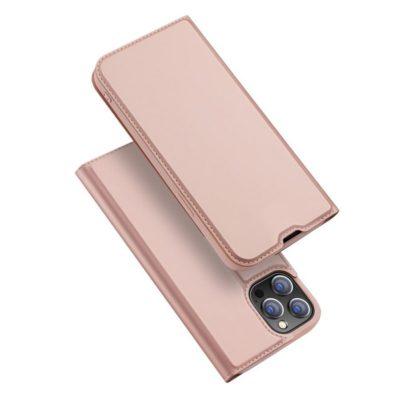 Apple iPhone 13 Pro Max Kotelo Dux Ducis Ruusukulta