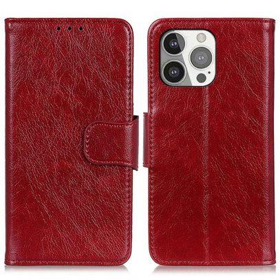 Apple iPhone 13 Pro Nahkakotelo Punainen