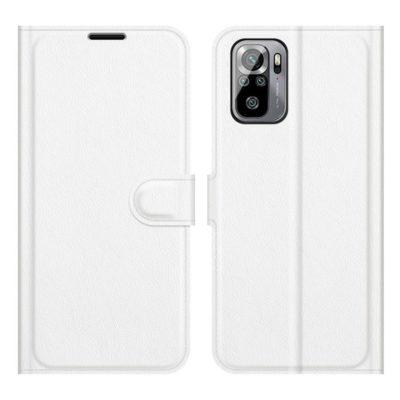 Xiaomi Redmi Note 10S Kotelo PU-Nahka Valkoinen