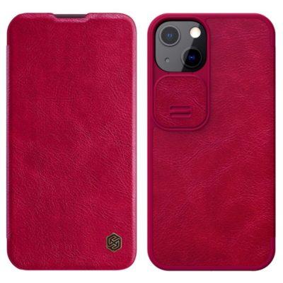 Apple iPhone 13 Kotelo Nillkin Qin Punainen