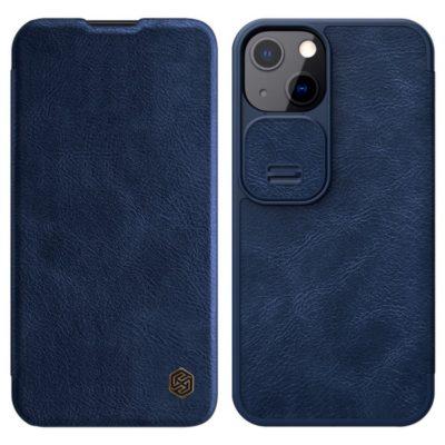Apple iPhone 13 Kotelo Nillkin Qin Sininen