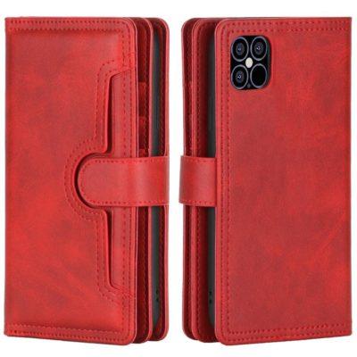 Apple iPhone 13 Lompakkokotelo Punainen