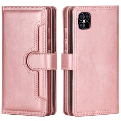 Apple iPhone 13 Pro Max Lompakko Ruusukulta
