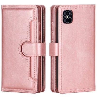 Apple iPhone 13 Lompakkokotelo Ruusukulta