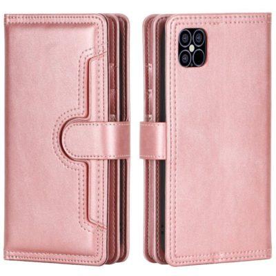 Apple iPhone 13 mini Lompakkokotelo Ruusukulta