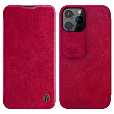 Apple iPhone 13 Pro Kotelo Nillkin Qin Punainen