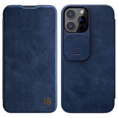 Apple iPhone 13 Pro Kotelo Nillkin Qin Sininen